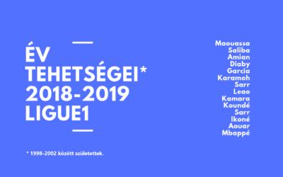 Év tehetségei, Ligue1 – 2018/2019