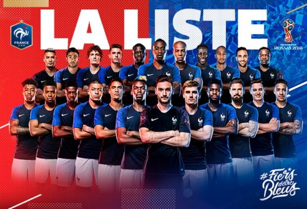 francia válogatott keret